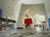 English: Interior of the National Museum of Australia in Canberra, Australian Capital Territory.