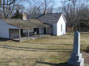 English: Jesse James Farm in Kearney, Missouri