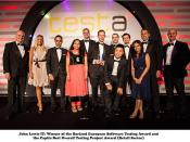 Cognizant client John Lewis IT wins The Borland European Software Testing & Capita Best Overall Testing Project awards