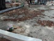 Eric Edgar Cooke and Martha Rendell gravesite, Fremantle Cemetery, Western Australia.