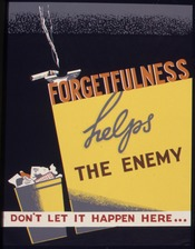 Forgetfulness helps the enemy. Don't let it happen here - NARA - 535247