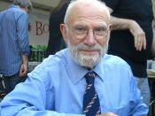 English: Neurologist and writer Oliver Sacks at the 2009 Brooklyn Book Festival.