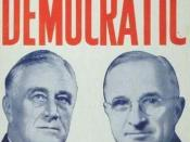 English: Democratic Poster in 1944