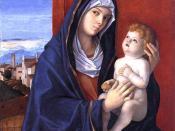 Giovanni Bellini Madona and Child