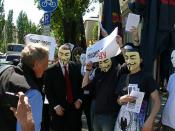Anonymous Operation Game Over on May 10 in Munich, Germany