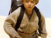 Jake Lloyd portrayed 9-year-old Anakin Skywalker