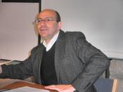 Nederlands: Dr. Mitri Raheb, Evangelisch-Luthers theoloog in Bethlehem