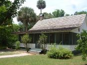 Cross Creek State Historical Site - Marjorie Kinnan Rawlings' home, Cross Creek, Florida