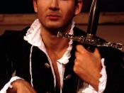 English: John Farmanesh-Bocca as Prince Hal in the Carmel Shakespeare Festival production of Henry VI, Part 1.