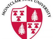 English: The logo of montclair state university