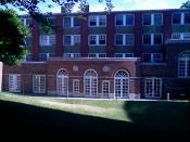 White Hall on the Cambridge campus.