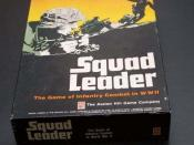 Squad Leader game package.