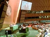 Discurso del Presidente Zapatero ante la Asamblea General.