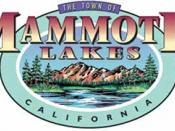 Official seal of Town of Mammoth Lakes