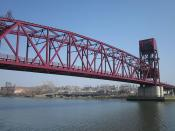Welfare Island Bridge - Roosevelt Island, New York