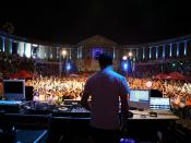 Sasha DJing in Arenele Romane in Bucharest, Romania