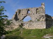 Mangup - Ruins of Goth fortress in Crimea (Ukraine)