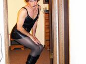Transvestite Goth Chick