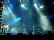 Def Leppard at the Sweden Rock Festival, 2008.