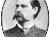Wyatt Earp at about age 33.