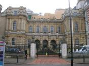 English: Reading Crown Court, Old Shire Hall, Forbury Road