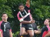 Training Session - Aboriginal Dreamtime Team - RLWC 2008
