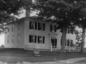 English: Birthplace of Franklin Pierce, Hillsborough, New Hampshire