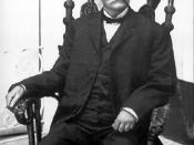 English: Tomás Estrada y Palma, the first President of Cuba