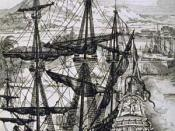 A Spanish Galleon. The Galleon was a tough fighting ship of its time.