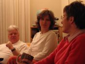 Gerald, Kate, and Maria
