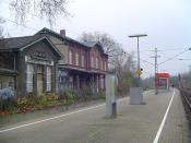 English: Train station Düsseldorf-Eller (S-Bahn), Germany