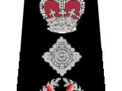 English: UK Police Commissioner Rank Markings