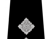 English: UK Police Inspector rank marking