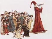 Illustration from The Pied Piper of Hamelin