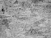 Dostoyevsky's notes for Chapter 5 of The Brothers Karamazov
