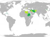 English: Map of Rogue States