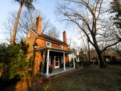 English: John Woolman House, Mt. Holly, New Jersey