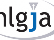 Logo for the National Lesbian & Gay Journalists Association.