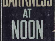 1st US edition of Darkness at Noon (Cover)