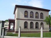 English: This is my 2008 photo of Touro Synagogue in Newport, Rhode Island.