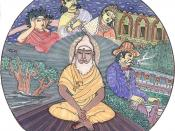 Hindus believe the self or soul (atman) repeatedly takes on a physical body.