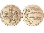2003 Brown et al. v. the Board of Education of Topeka et al. Congressional Gold Medal