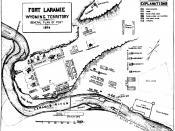 Plan of Fort Laramie