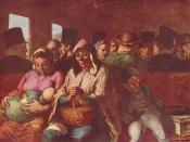 Honoré Daumier. The Third-Class Carriage, c. 1862-1864. Oil on canvas, 65.4 x 90.2 cm. Metropolitan Museum of Art.