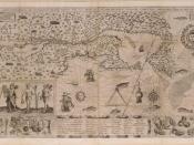 Map of New France, by Samuel de Champlain (1567?-1635): 1612