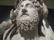 Bust of Commodus as Hercules