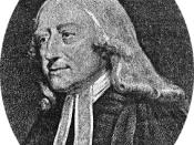 Stripped image of John Wesley