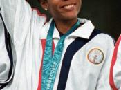 English: LaTasha Colander - September 30th, 2000 at the 2000 Sydney Olympic Games.
