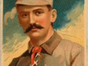 King Kelly managed the Boston Reds to the only Players League championship.