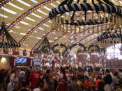 Deutsch: Oktoberfest München (Bierzelt)